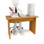 12771440-3d-hombre-de-negocios-con-un-monton-de-trabajo-que-hacer-en-el-fondo-blanco