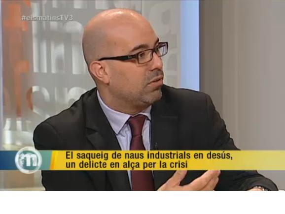Vídeo: Els matins de TV3. Els saquejos de naus industrials en desús